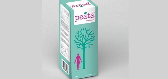 Peata: φυτικό σιρόπι ενηλίκων για το κρυολόγημα