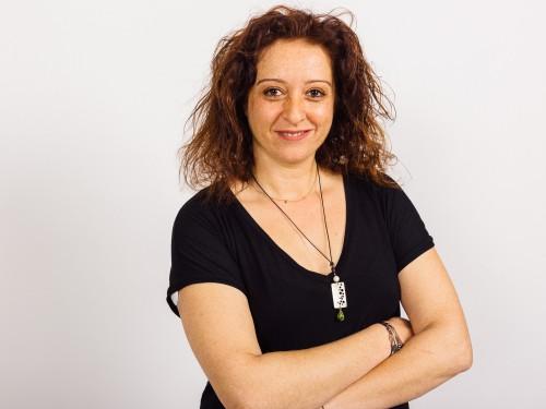 Η Σιμέλα Παπαδοπούλου διαγνώστηκε με διαβήτη μετά τα 30 της. Φωτο Πάρις Ταβιτιάν/LIFO