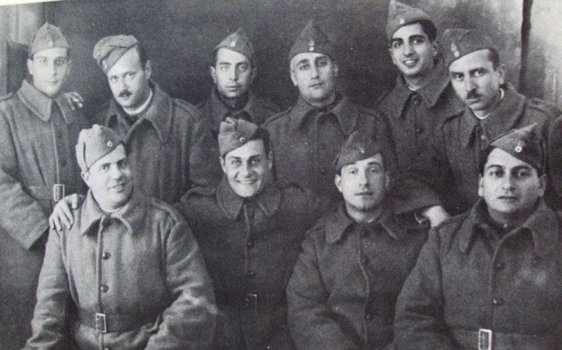 Ο Κωνσταντάρας στο στρατό