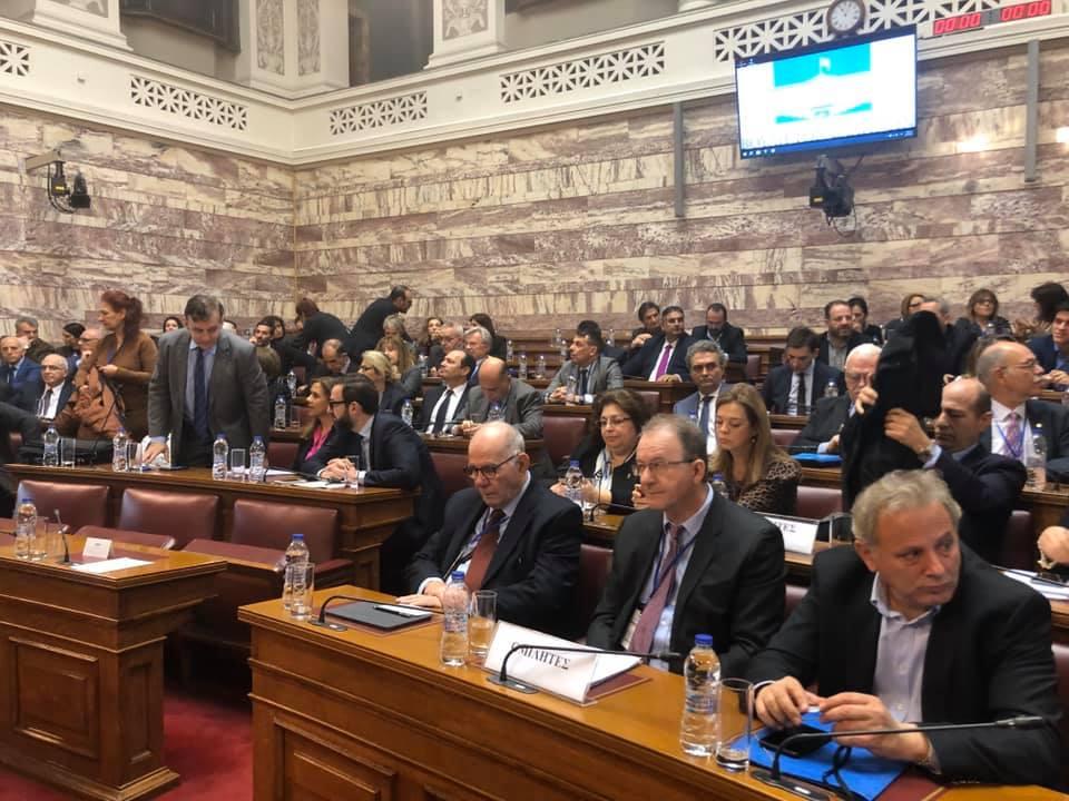"""Ημερίδα με θέμα """"Νεανικός Διαβήτης"""" έλαβε χώρα στην αίθουσα της Γερουσίας της Βουλής των Ελλήνων"""
