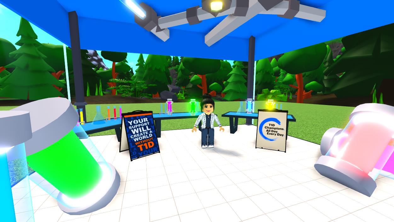 JDRF εικονικός κόσμος