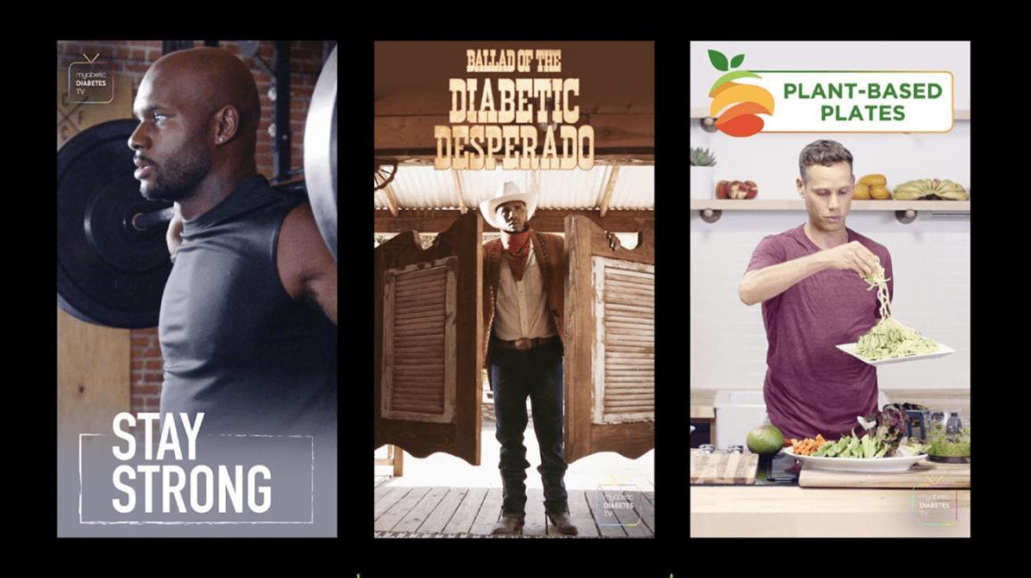 το myabetic tv διαθέτει μια σειρά προγραμμάτων που ενδιαφέρουν άτομα με διαβήτη