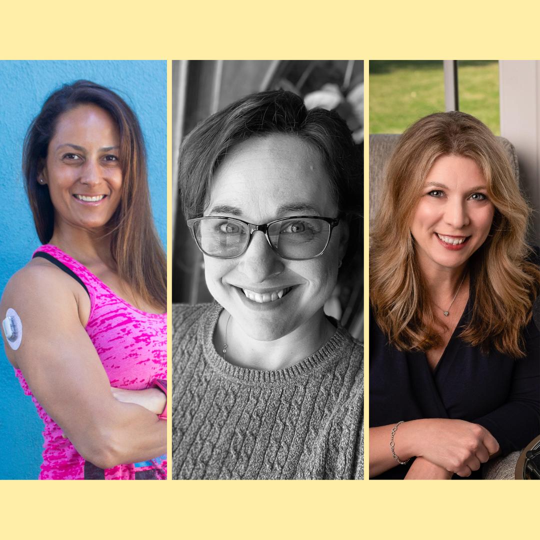 τρεις γυναίκες της διαβητικής κοινότητας μιλάνε για τον χρόνο εντός των ορίων